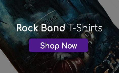 Rock Band T-Shirts Promo