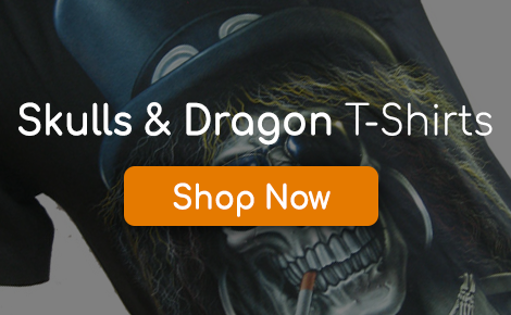 Skulls & Dragon T-Shirts Promo